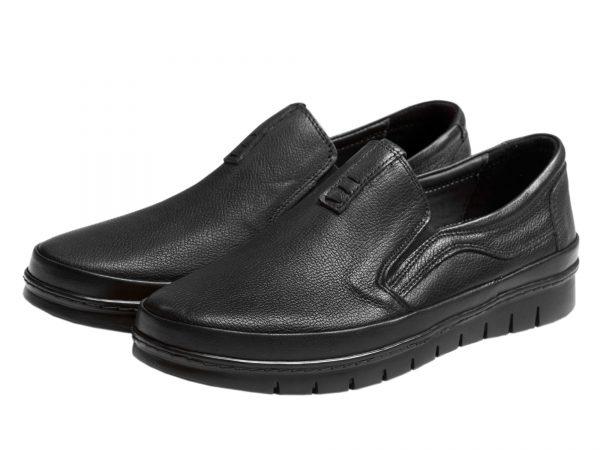 عکس مدل کفش طبی مردانه مدل فورسه مشکی