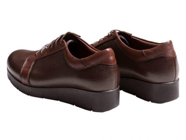 لژ کوتاه کفش زنانه اسپرت مدل آنیا قهوه ای