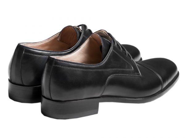 پاشنه سه سانتی کفش رسمی کلاسیک مردانه