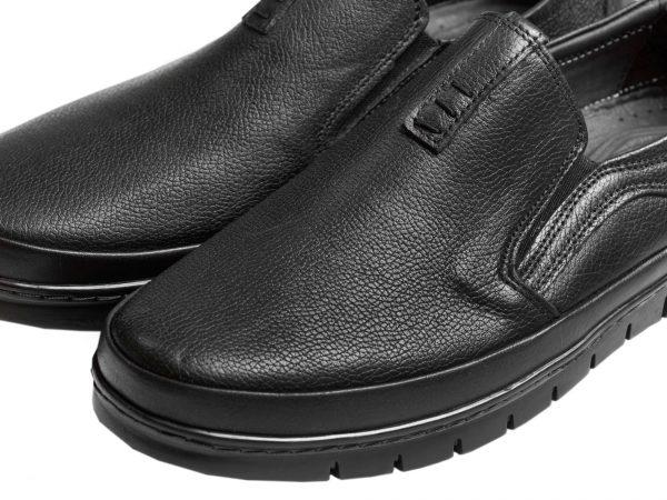 چرم رویه گاوی ملینگ کفش طبی مردانه
