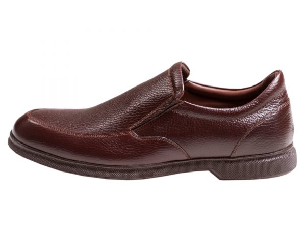 کفش اداری مردانه مدل نروژی قهوه ای