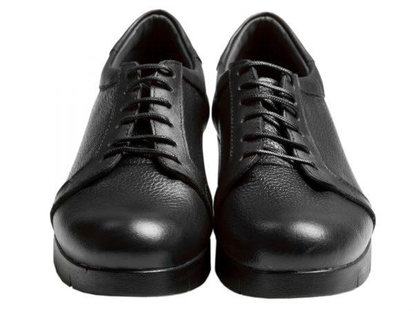 کفش زنانه تخت روزمره مدل آنیا مشکی