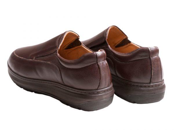 زیره نرم و سبک کفش طبی مردانه مدل کنتال قهوه ای