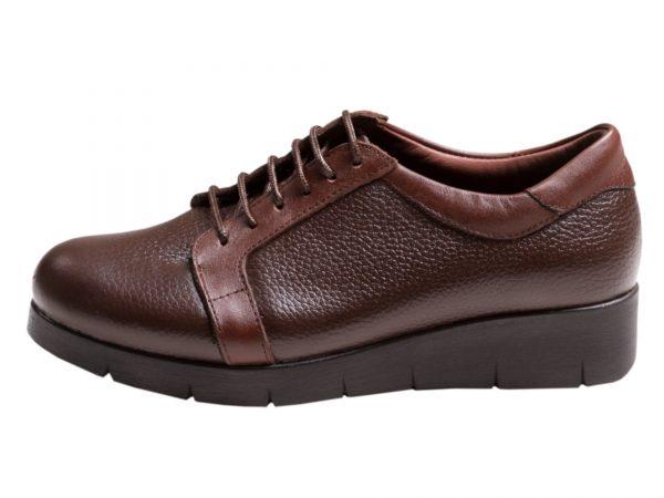 کفش لژدار زنانه اسپرت مدل آنیا قهوه ای