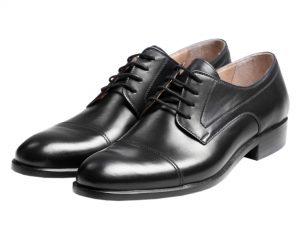 کفش چرم مردانه مدل پانو
