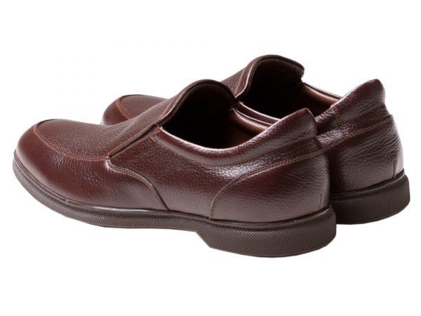 کفش اداری مردانه مدل نروژی رنک قهوه ای