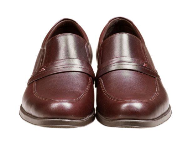 کفش رسمی مردانه چرم ساده