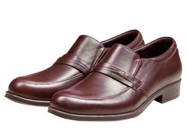 کفش چرم رسمی مردانه مدل یونیک رنگ قهوه ای