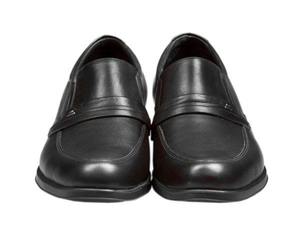 چرم مات و ساده کفش اداری مردانه مدل یونیک