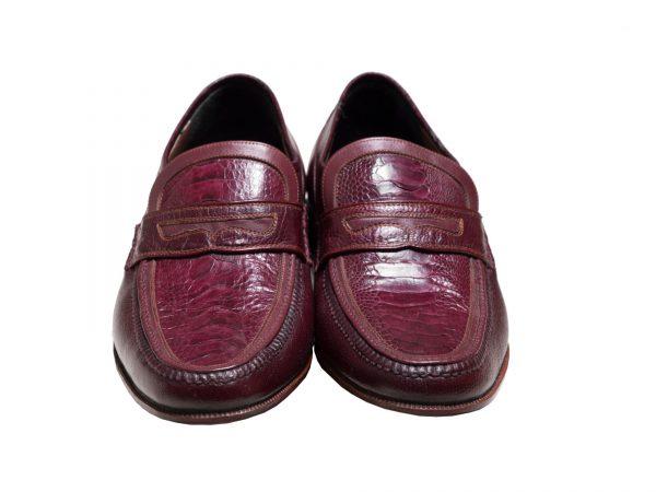 کفش مرذانه چرم مدل فانتوفی تخم مرغی