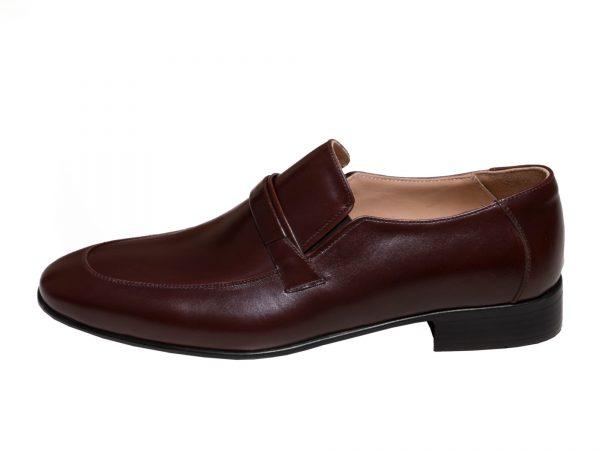کفش اداری مردانه رنگ قهوه ای مدل مالنا
