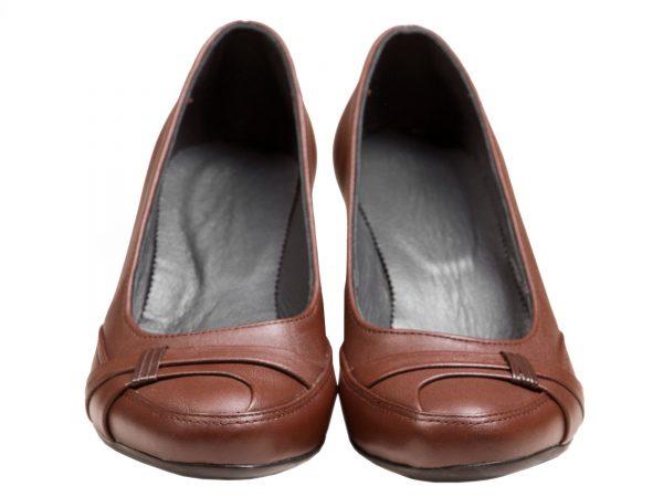 کفش زنانه با آستر و کف چرمی