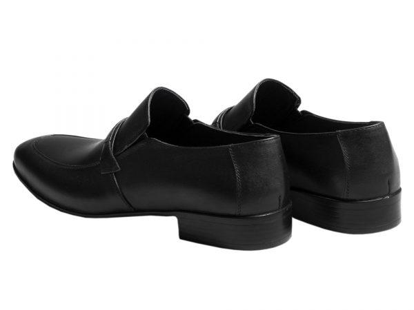 کفش تخت مردانه مدل مالنا مشکی