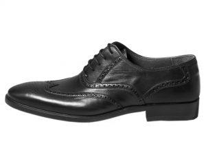 کفش چرم مردانه مدل آذین
