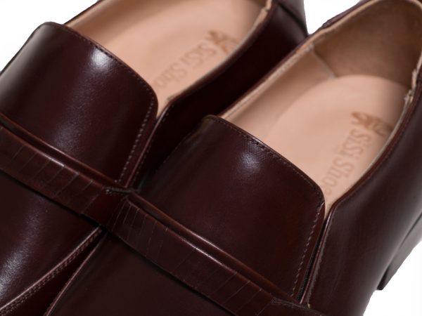 کفی طبی لاتکس دار کفش اداری مردانه مدل مالنا
