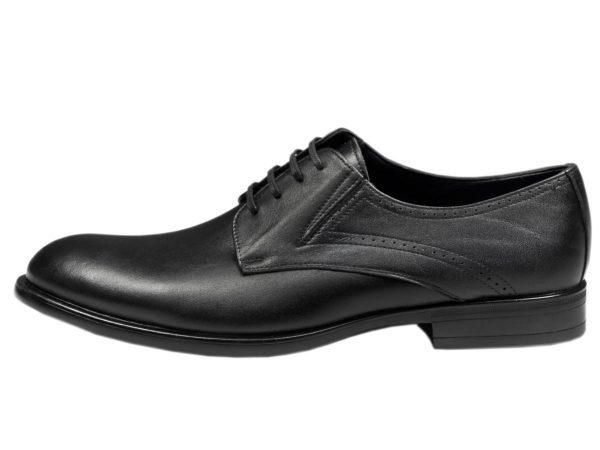 کفش مردانه رسمی کلاسیک مدل سزار چرم مشکی
