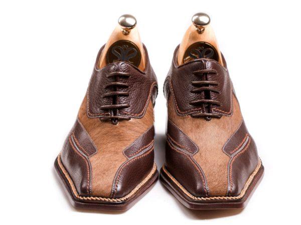 کفش مردانه چرمی مدل لئوناردو