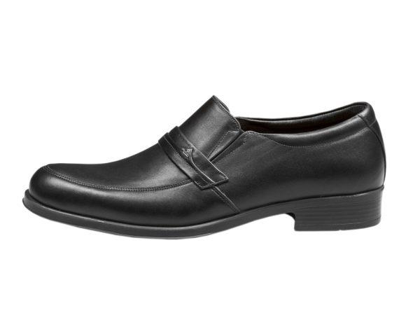 کفش مردانه چرم رسمی مدل یونیک مشکی