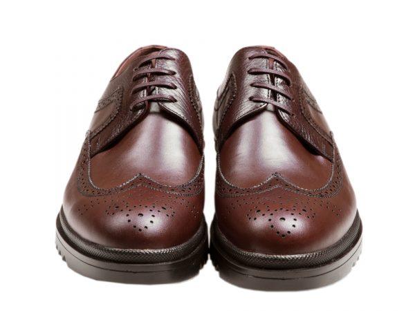 کفش هشت ترگ مردانه مدل نیومن قهوه ای