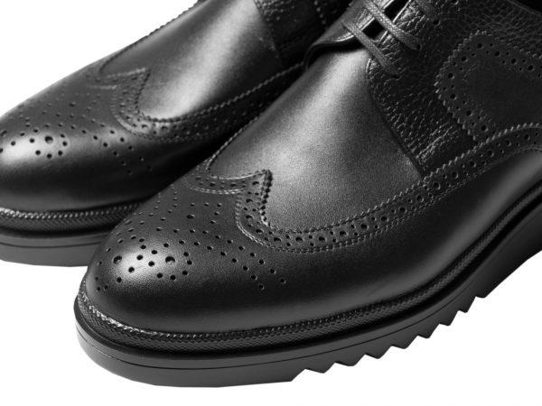 رویه چرم هشت ترگ کفش مردانه نیومن