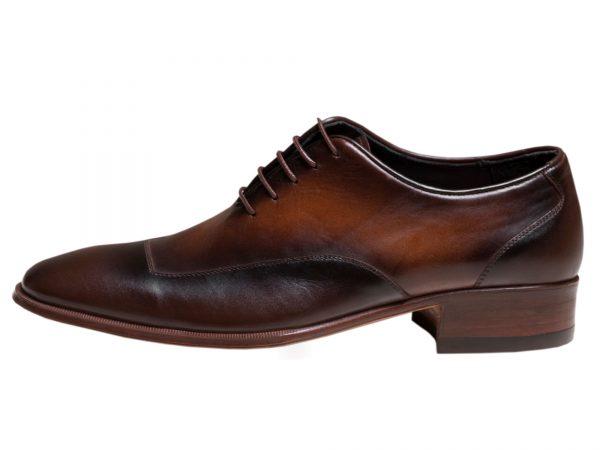 کفش مردانه مجلسی دو رنگ مدل لوکا