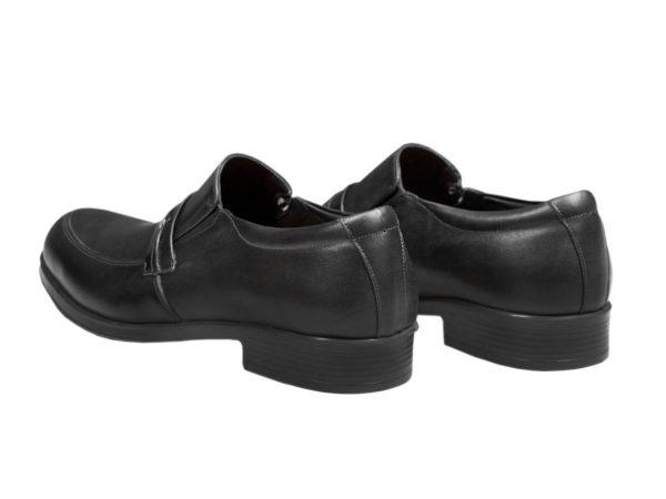 کفش چرم مردانه رسمی مدل یونیک مشکی