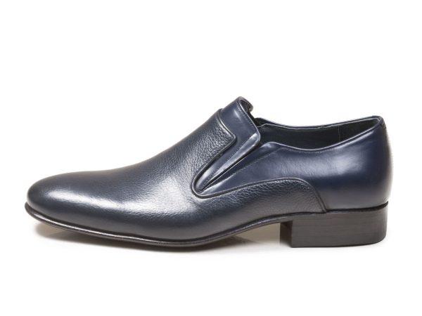 عکس مدل کفش مردانه رسمی بی بند آلدو رنگ سرمه ای