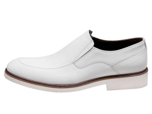 کفش تبریز مدل فابی بی بند رنگ سفید