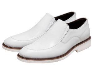 کفش چرم مردانه مدل فابی بی بند