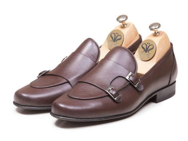 عکس مدل کفش چرم ماریو دو سگک
