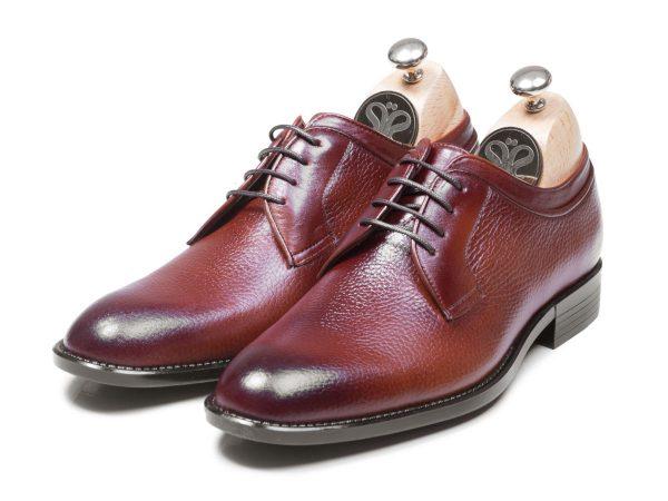 عکس مدل کفش چرم مردانه ساده هاکان