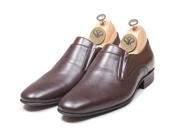 مدل کفش دست دوز مردانه چرمی آلدو قهوه ای