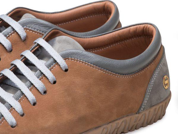 کفش اسپرت دخترانه مدل آیسان رنگ طوسی عسلی