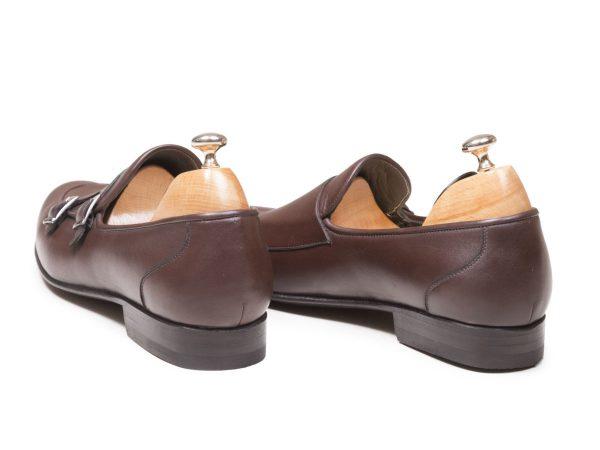 کفش تبریز مدل ماریو دو سگک double monk strap