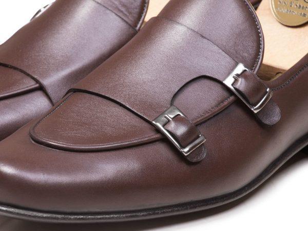 کفش دابل مونک استرپ ماریو قهوه ای