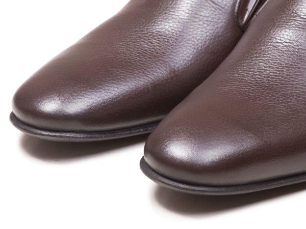 کفش مردانه با چرم مات شلانگ مدل آلدو قهوه ای