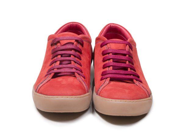کفش کتانی بنددار دخترانه مدل آیسان