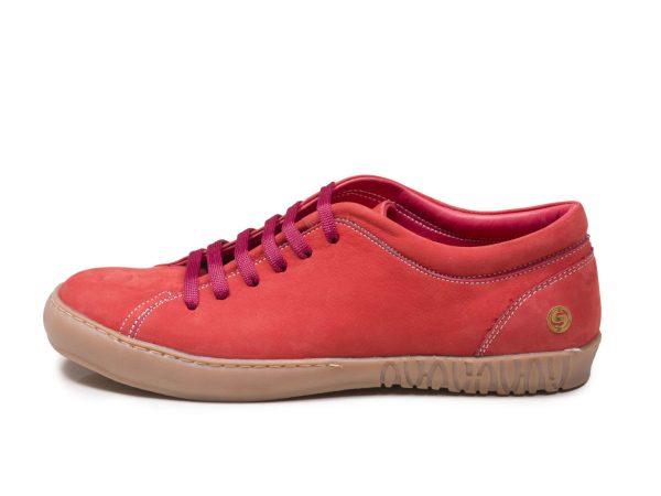 کفش کتانی دخترانه رنگ گلبهی مدل آیسان