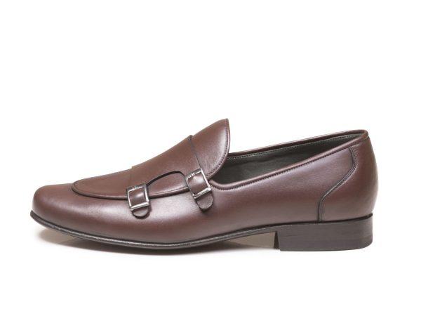 کفش double monk strap مدل ماریو