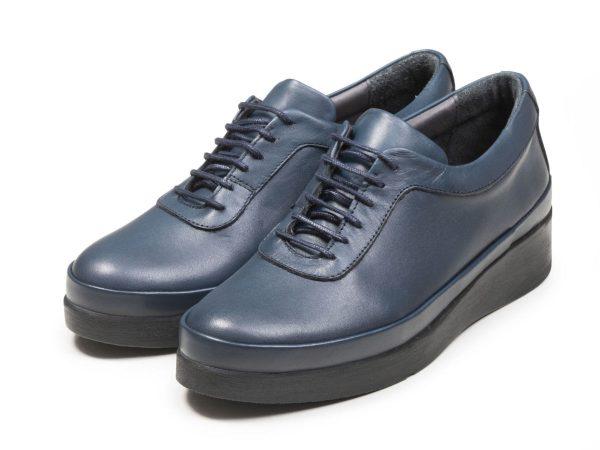 عکس مدل کفش لژدار دخترانه آبی مولینا