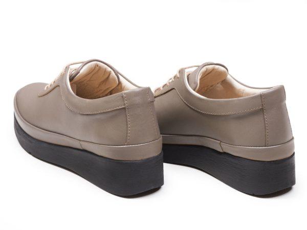 لژ 3.5 سانتی متری کفش زنانه مولینا رنگ ویزون