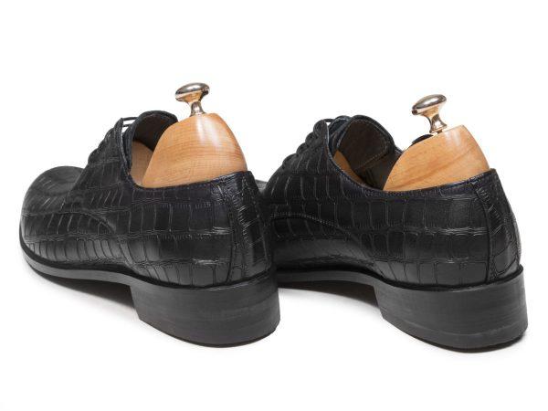 پاشنه ۳ سانتی کفش چرم مردانه دسلو