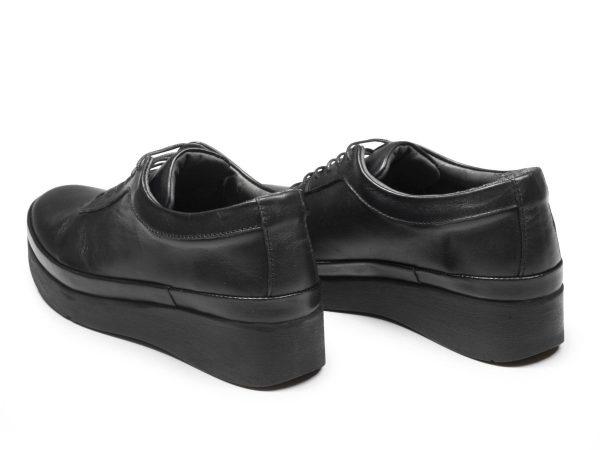 پاشنه 3 و نیم سانتی کفش اداری زنانه مدل مولینا رنگ مشکی