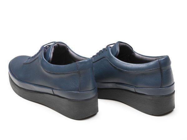 پاشنه 3.5 سانتیمتری کفش زنانه مولینا آبی
