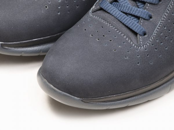 کفش اسنیکرز مردانه مدل لسکون رنگ سورمه ای