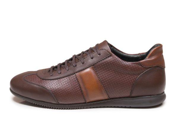 کفش اسپرت مردانه مدل برنی رنگ قهوه ای