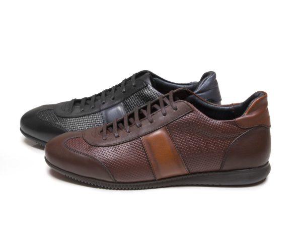 کفش اسپرت چرم مردانه برنی