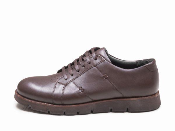 کفش اسپرت کلاسیک مردانه مدل فورتیس رنگ قهوه ای