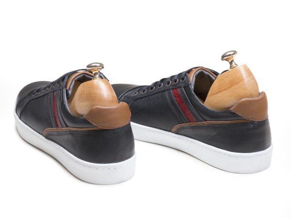 کفش اسپرت کلاسیک مردانه مدل کریس مشکی