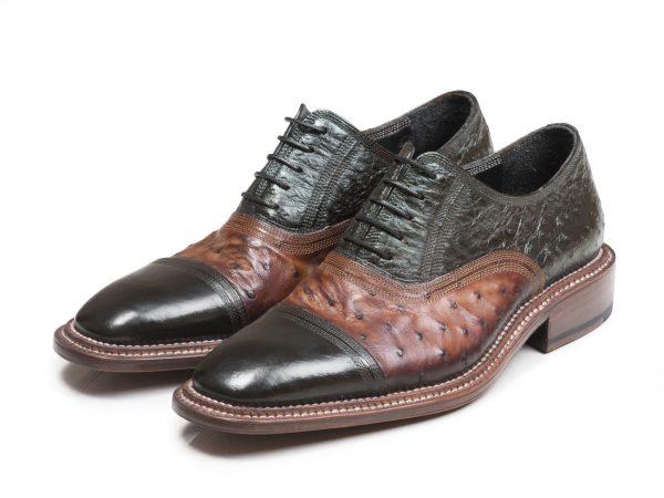 کفش دستدوز چرم مردانه مدل شایان وی آی پی